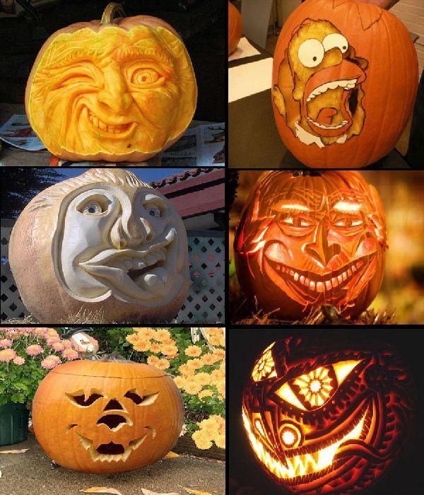 25 best Halloween images on Pinterest Holidays halloween - halloween pumpkin painting ideas