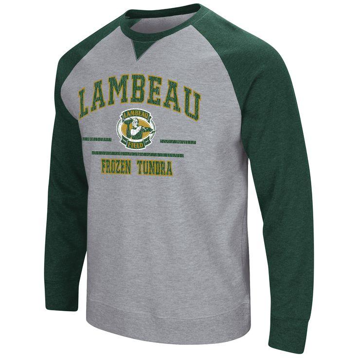 Lambeau Field Turf Fleece Crew  large