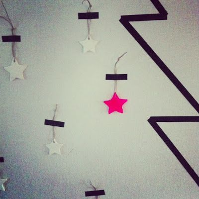 This is a naff version, but with some funky washy tape you could make a super cool tree on your wall!