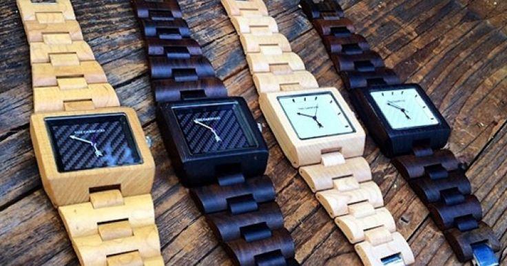 The Garwood is een Amerikaans bedrijf in L.A. wat prachtige horloges maakt van hout. En hoewel het idee wat oubollig lijkt, zodra je het resultaat zie...