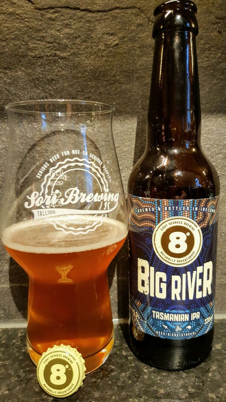 Eight Degrees Big River Tasmanian IPA. Watch the video beer review here www.youtube.com/realaleguide   #CraftBeer #RealAle #Ale #Beer #BeerPorn #EightDegrees #EightDegreesBrewingCompany #EightDegreesBrewing #EightDegreesBigRiver #BigRiverTasmanianIPA #BigRiverIPA #BigRiver #IrishCraftBeer #IrishBeer