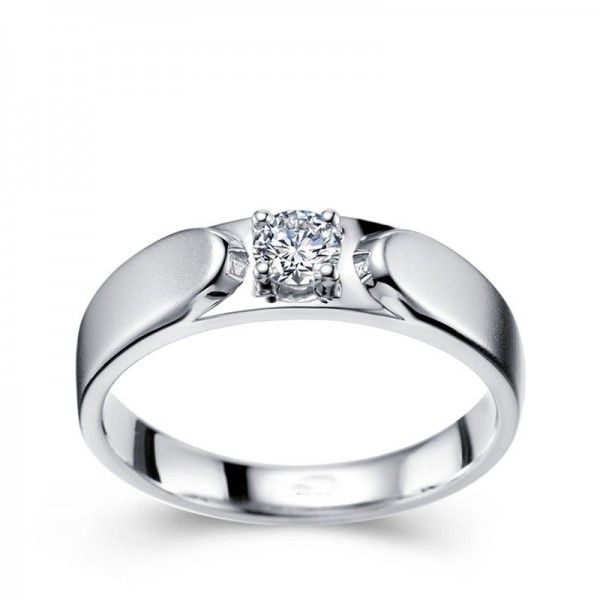 white gold wedding rings for him