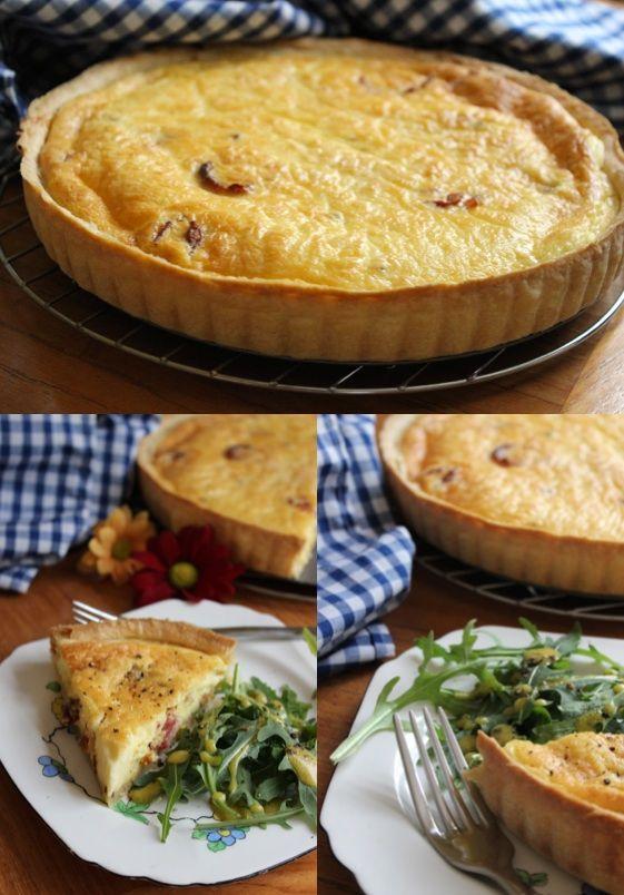 Classic Quiche Lorraine {from The Little Paris Kitchen}