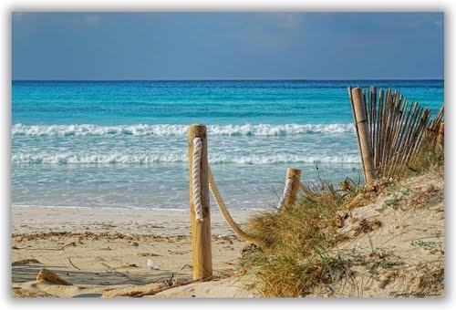 around the corner... #Es_Trenc Beach, #Spain