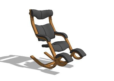The Varier Gravity Balans Chair. Desing By Stokke, Norway. Since I Use The  IPad Itu0027s Not Only My Favourite Chair, But Also My Home Office.