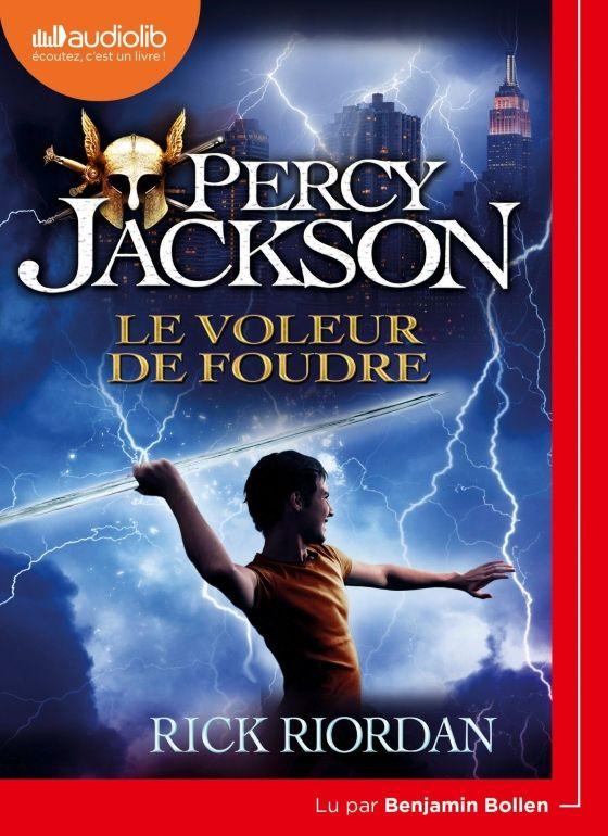 "Rick Riordan, ""Le Voleur de foudre (Percy Jackson 1)"""