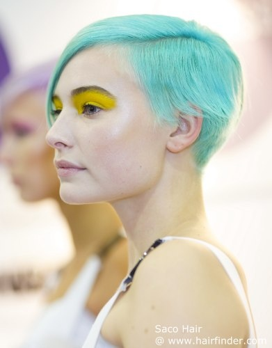 amazing turquoise hair
