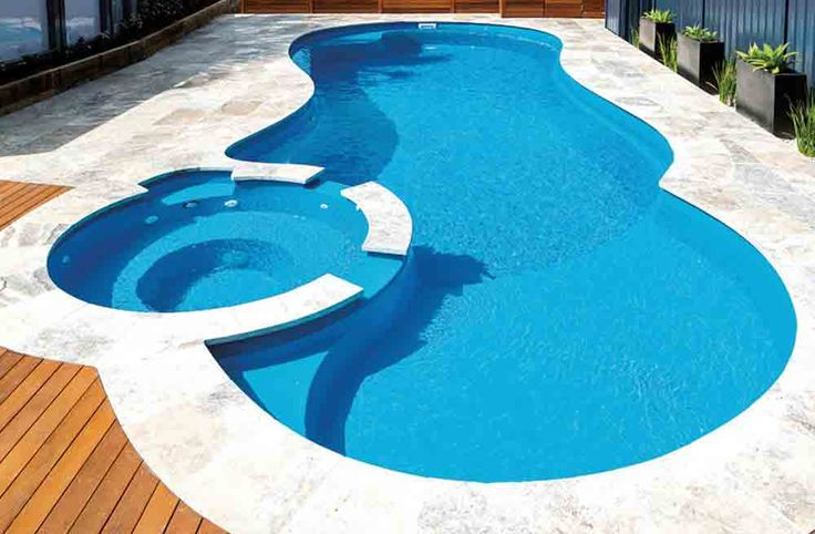 47 best inground swimming pool ideas images on pinterest - Fiberglass shells for swimming pools ...