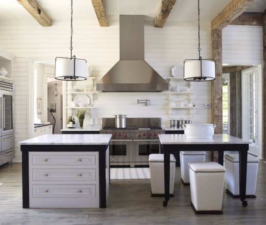 white the perfect hostess cultivateit - White Subway Tile Kitchen