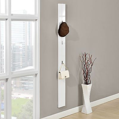 encasa armario cm blanco gancho plegable para ropa perchero panel de pared