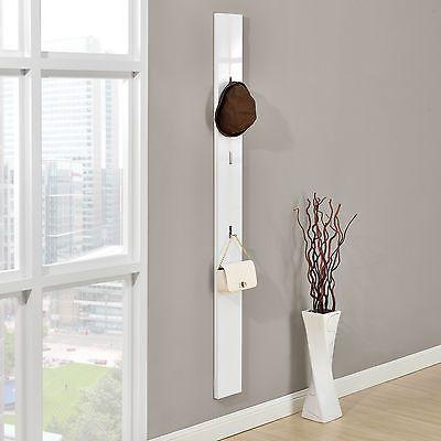 encasa armario cm blanco gancho plegable para ropa perchero panel de pared