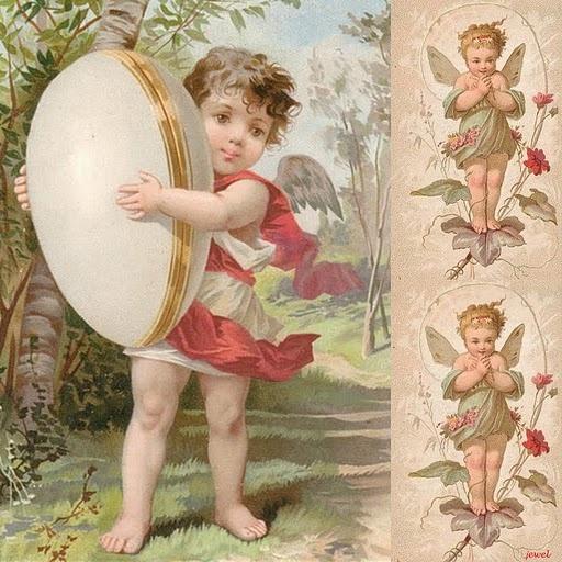 Коллекция картинок: Коллажи для декупажа: Vintage Postcards, Väikesed Tüdrukud, European Easter, Easter Postcards, Posts, Väike Tüdrukud