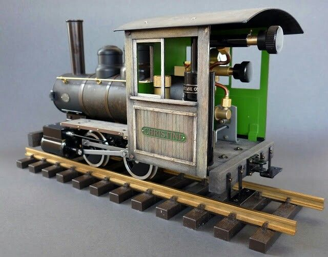 Accucraft Ruby live steam locomotive