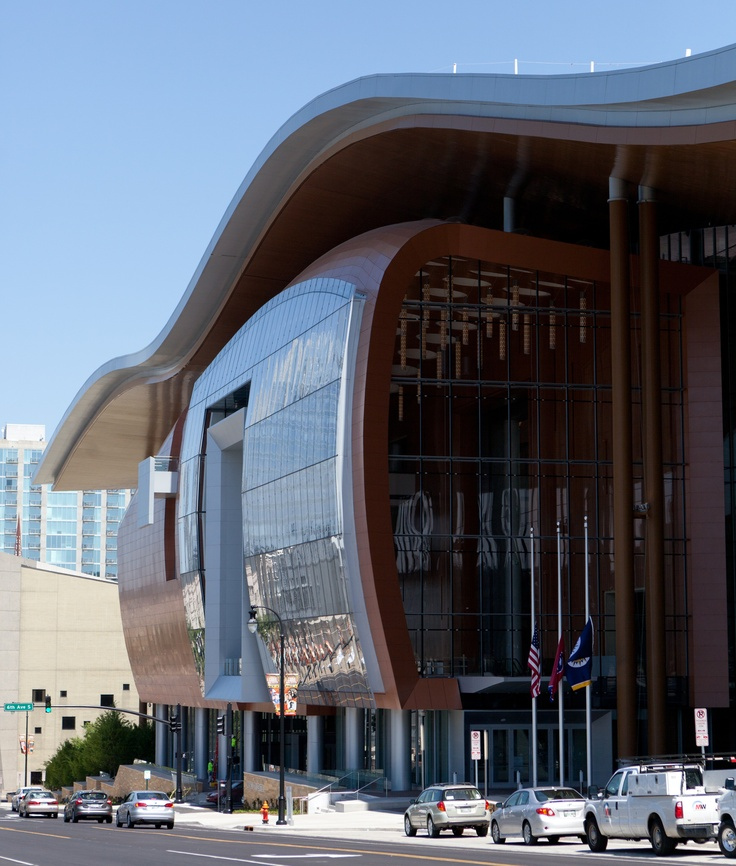 The Largest Public Building In Nashvilleu0027s History, The Music City Center  Was Designed, In
