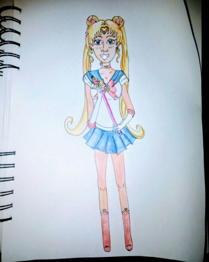 Sailor Moon #fanart #anime #manga #illustration #drawing #sailormoon
