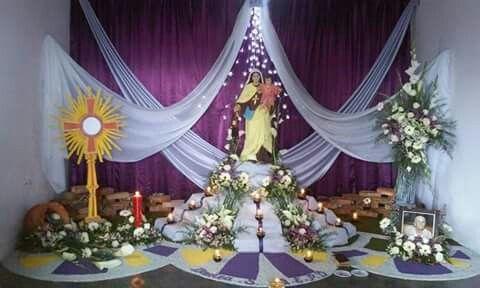 Altar de difuntos altares para difuntos pinterest altars - Cosas de navidad para hacer en casa ...