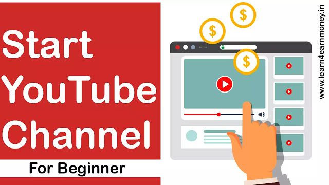How To Start A Youtube Channel For Beginners Learn 4 Earn Money Youtube Channel Ideas Money Logo Making Money On Youtube