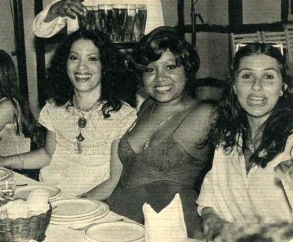 Clara Nunes, Alcione e Fafá de Belém, from http://memoriaviva.tumblr.com/