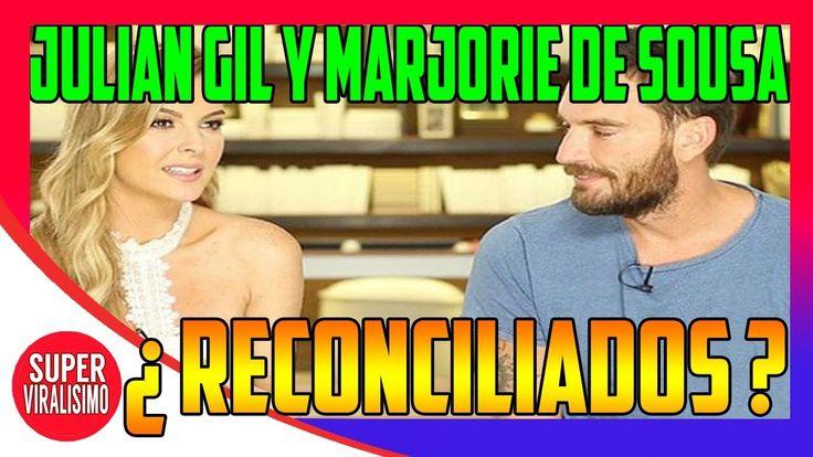 Julián Gil Y Marjorie De Sousa ¿Reconciliados? |¿Habrá una reconciliación?