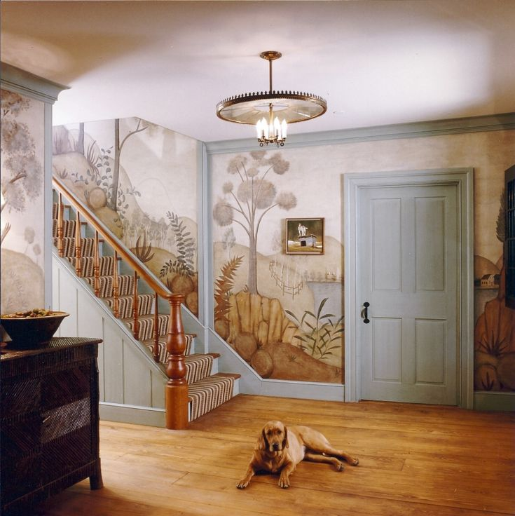 17 Best Images About Wall Murals Floorcloths And