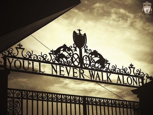 I can't think of a better thing for thousands to think and sing. No Red will ever walk alone.