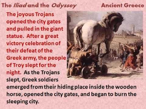 the greek history of homers iliad and odyssey Homer was a legendary ancient greek poet who composed the great epics, the iliad, and, the odyssey check out this biography to know about his childhood, family life.