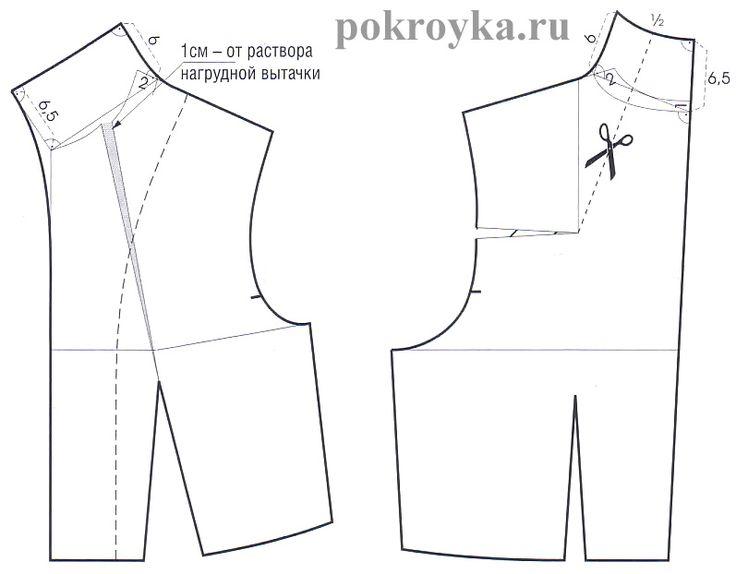 Моделирование воротников-стоек | | pokroyka.ru-уроки кроя и шитья