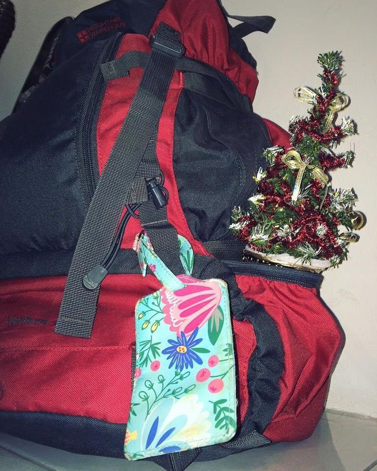We're travelling SE Asia and missing the festive build up so we got ourselves a little backpack-friendly tree.