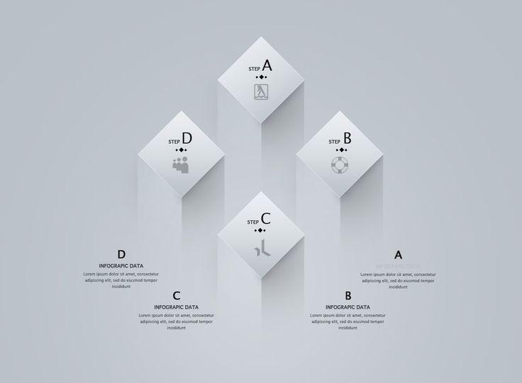 Photoshop Tutorial Graphic Design Infographic 3D Diamond