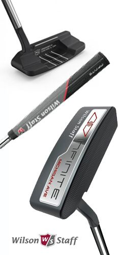 Putter Wilson Staff Infinite Michigan AV - 34 inches - A seulement 119€ !