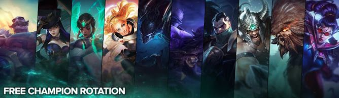cool Free Champion Rotation, Week of July 18th