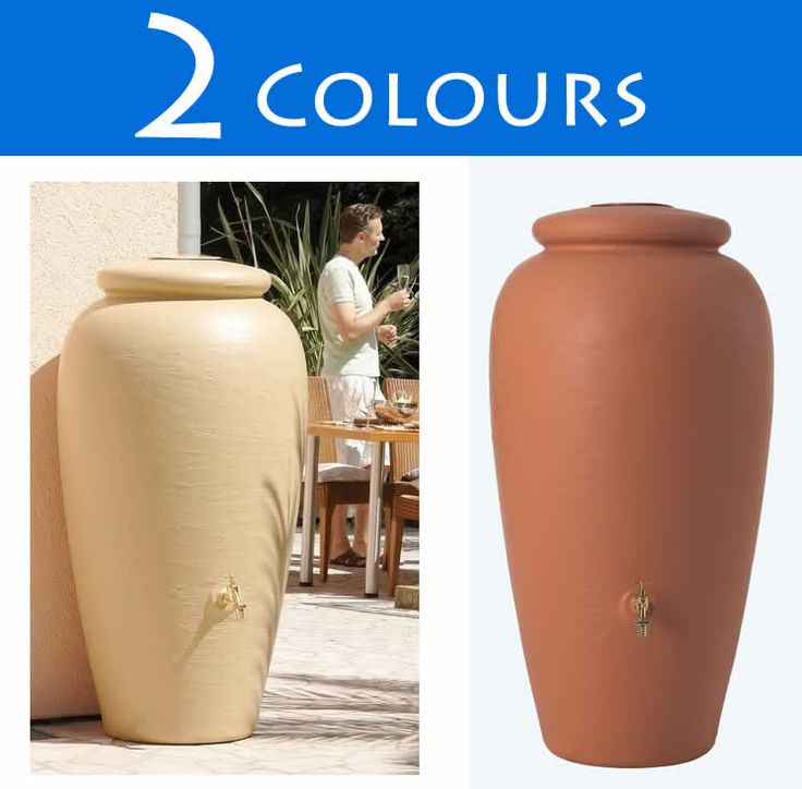 300l Rainwater Amphora Water Butt :: Water Butts Direct