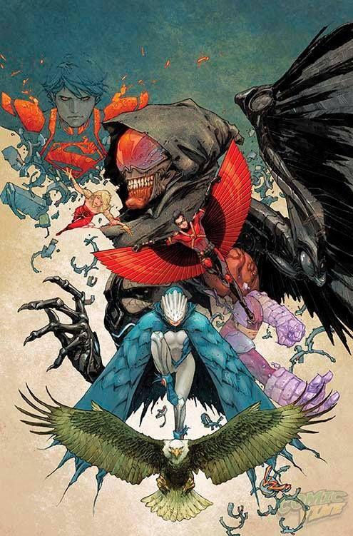Teen Titans #30 by Kenneth Rocafort *