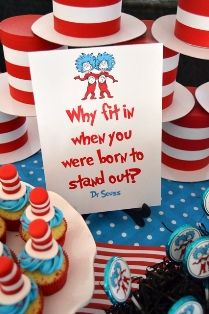 Dr Seuss Cat in the Hat Party