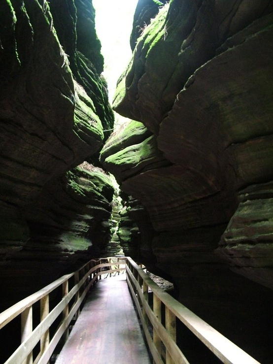 witches gultch, Wisconsin Dells