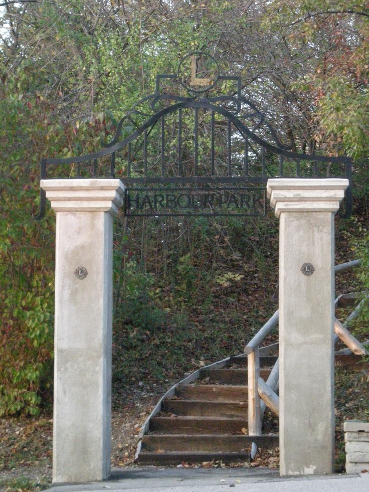 Harbour Park Stairs, Goderich, Ontario #Goderich #RediscoverGoderich