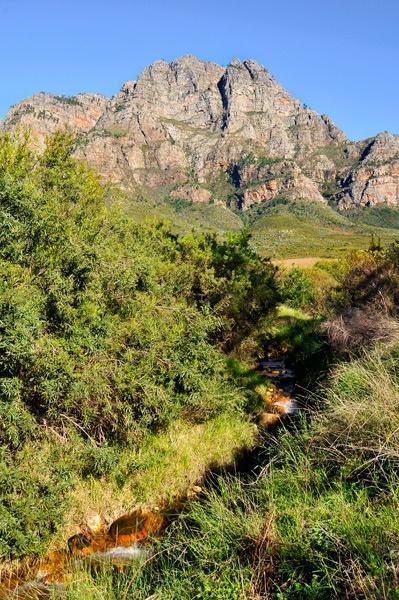 Boschendal Valley, Franschhoek, África do Sul