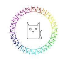 Rainbow Cat Ring by silverjade