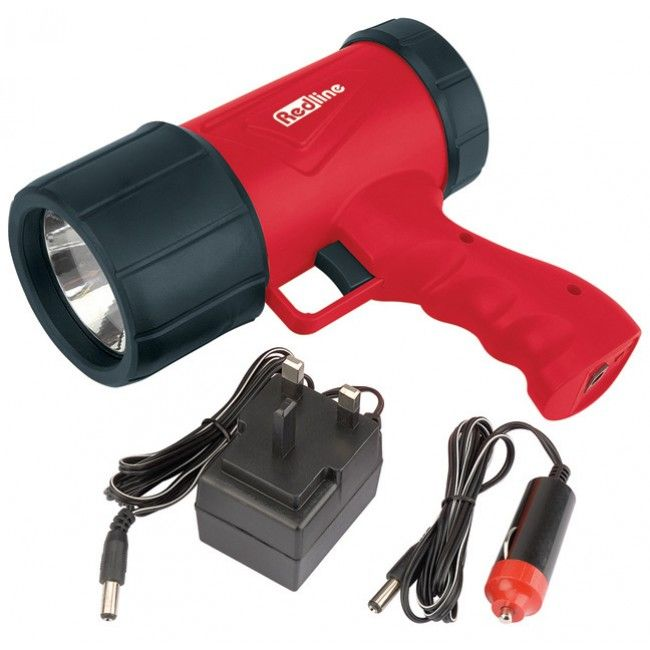 Redline Rechargeable LED Torch Flashlight