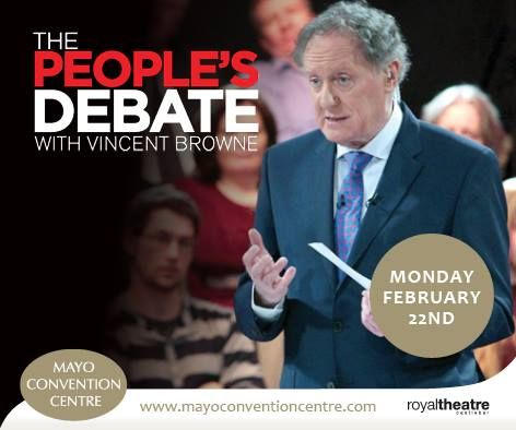 Vincent Browne comes to MCC