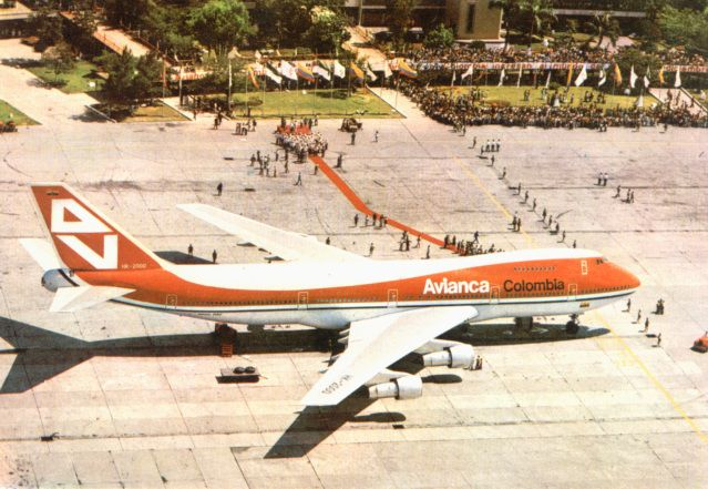Avianca | 747 Medellín
