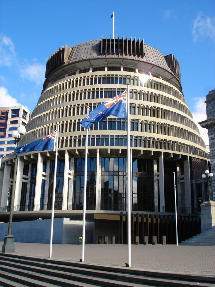 2010...The Beehive - Parliament.....Photo of Wellington New Zealand at KiwiWise