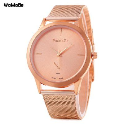 Classic Rose Gold Watch For Ladies