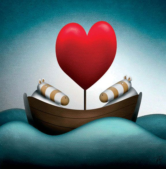Peter Smith THE LOVE BOAT Limited Edition Giclee