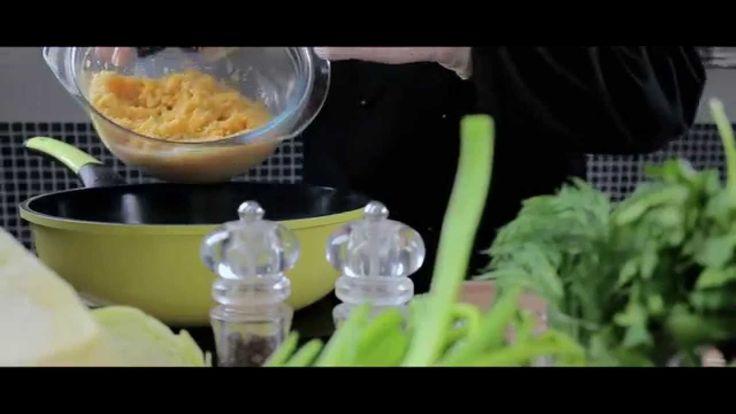 Крем-суп из кукурузы и сок из капусты