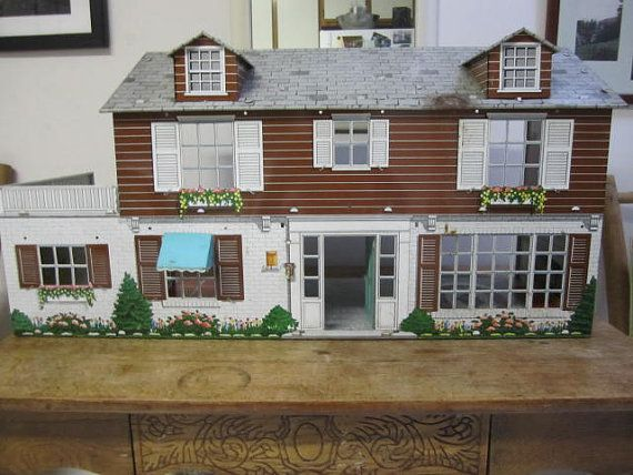 304 Best Doll Houses Images On Pinterest Doll Houses