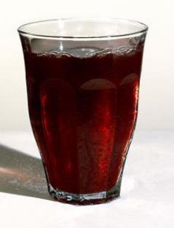 Succo di frutta alla fragola 🍓 con uva🍇 senza zucchero