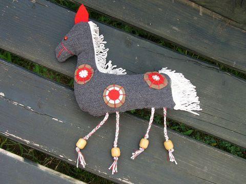 Patch Horse Paripa, Játék, Otthon, lakberendezés, Dekoráció, Meska