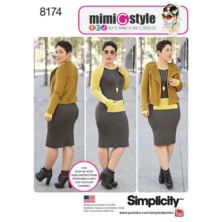 10 best mimi G style Patterns images on Pinterest | Strickkleid ...