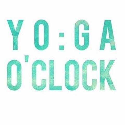 Yoga O'Clock.